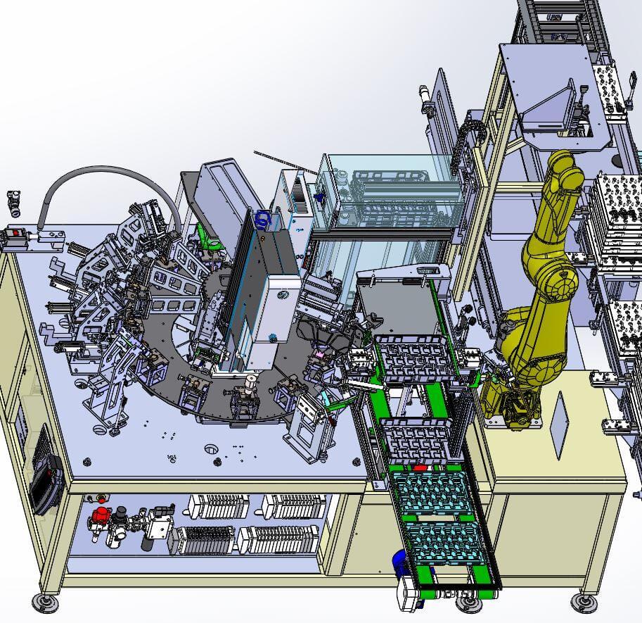 conception et la réalisation de machines spéciales