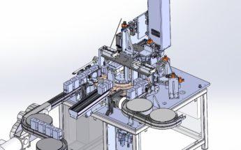 Machine de Marquage Laser en Continu